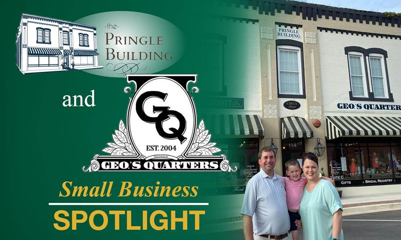 Geo's Quarters And The Pringle Building Small Business Spotlight