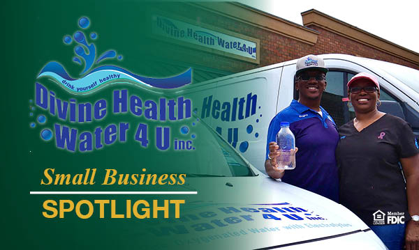 Divine Health Water 4 U Inc Small Business Spotlight